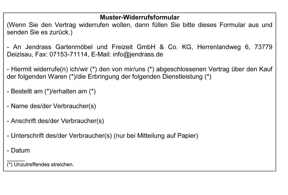 widerrufsrecht und musterwiderrufsformular als pdf druckendownload ...