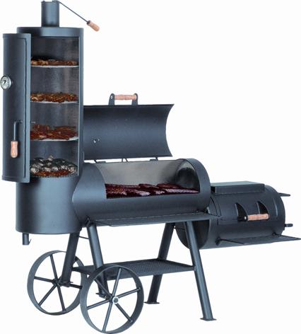 joe s chuckwagon 16 smoker bei jendrass bbq1 grillshop. Black Bedroom Furniture Sets. Home Design Ideas