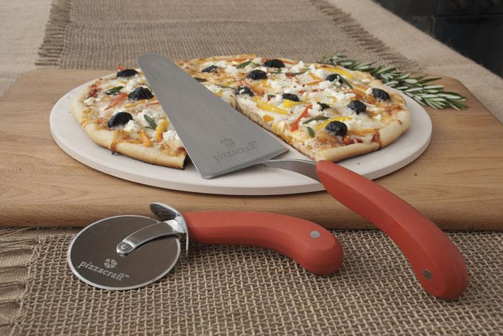 Pizzastein Für Gasgrill Napoleon : Pizzacraft pizzastein rund mit cutter und schaufel grillshop