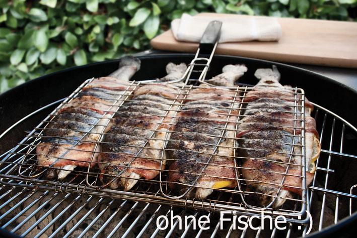 Weber Holzkohlegrill Fisch : Fischhalter für fische als korb aus edelstahl von steven