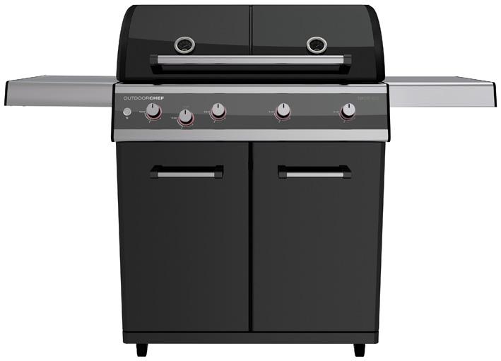 outdoorchef gasgrill dualchef 425g grillshop. Black Bedroom Furniture Sets. Home Design Ideas
