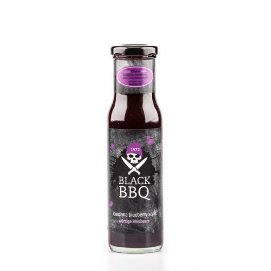 Black BBQ Louisiana Blueberry Style - Grillsauce