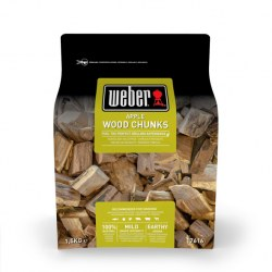 Weber Wood Chunks Apfel Inhalt: 1,5kg