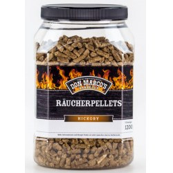 Räucherpellets Hickory Inhalt: 1,2 kg