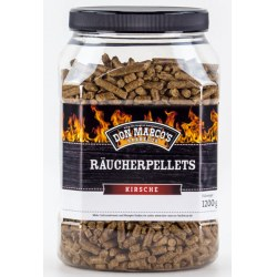Räucherpellets Kirsche Inhalt: 1,2 kg