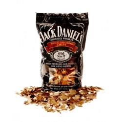 Jack Daniels Wood smoking chips Inhalt: 3,44l