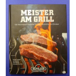 Buch Meister am Grill